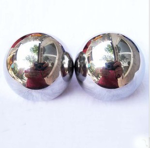 55MM size Chinese solid stress metal baoding balls