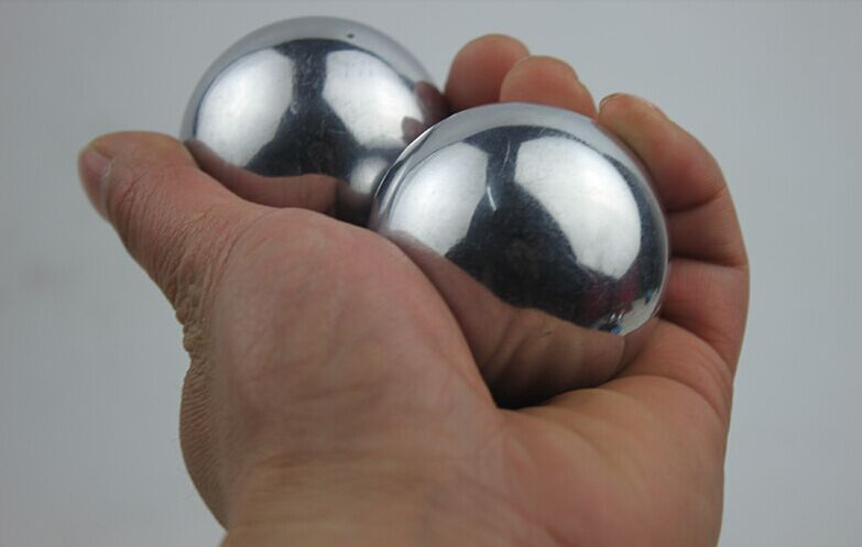 non chiming steel balls 55mm size