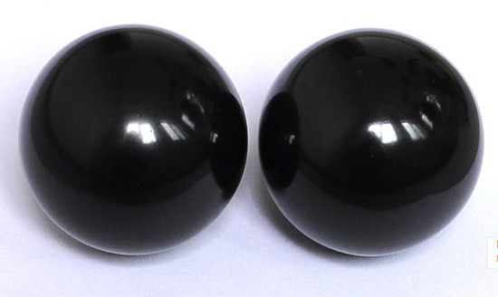 55mm black marble massage  balls
