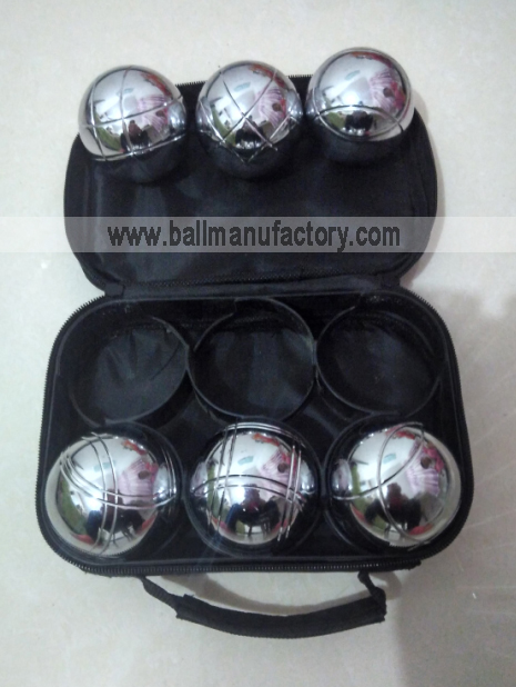 73MM metal boules  set petanque set