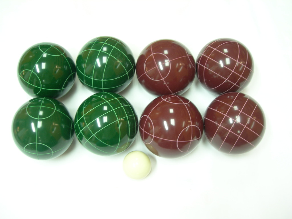 8 ball Resin bocce set