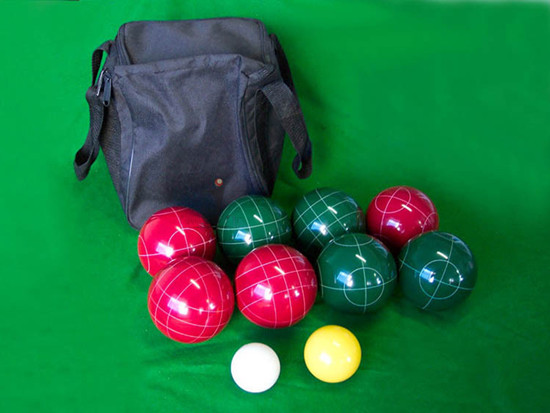 Supply resin bocce set soft petanque set