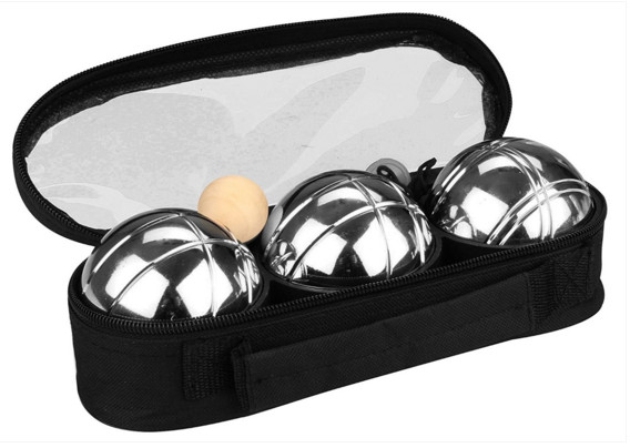 Outdoor ball toy ball Metal boules set 3 ball