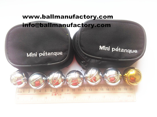 sell 32mm MINI petanque boules set for kids