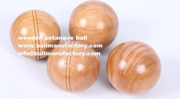 sell custom wooden petanque sets with high quality