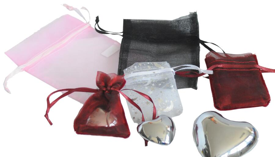 Metal craft -gifts - her -organza bag