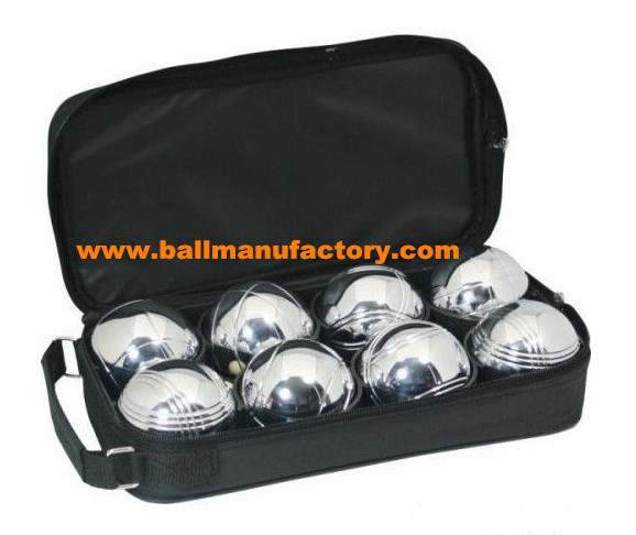 Wholesale 8pcs petanque,boules ball  nylon case