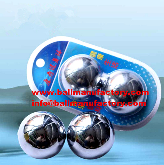 Chinese steel stress ball with blister packing