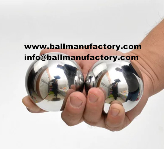 Supply  55mm Chinese solid steel stress ball