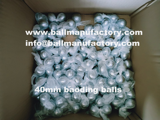 Supply 40mm Chinese chiming meditation ball