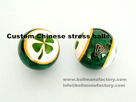 supply custom Chinese stress baoding balls