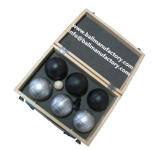 Garden boules ball petanque supplier in China
