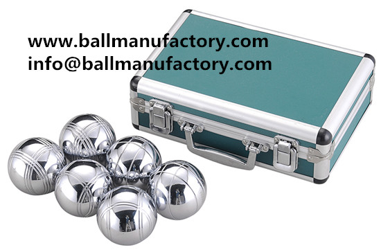 sell leisure petanque 6 ball with Aluminum case