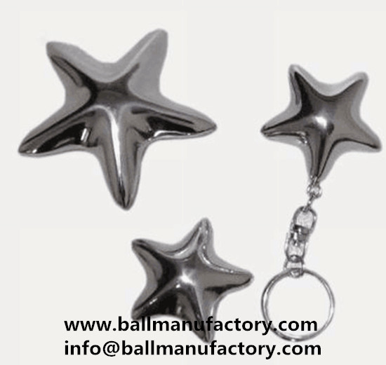 Special key chain gift chiming star with key ring