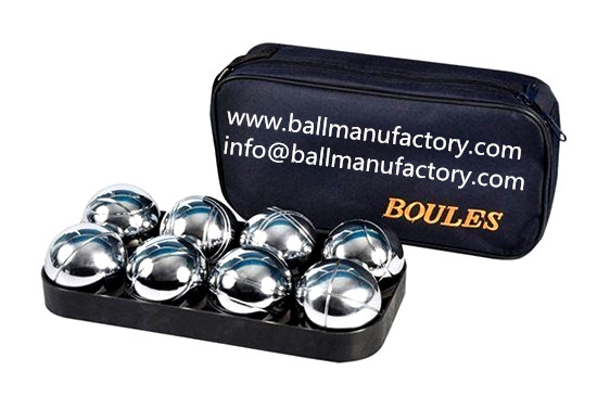 Garden lawn ball metal petanque boules sets