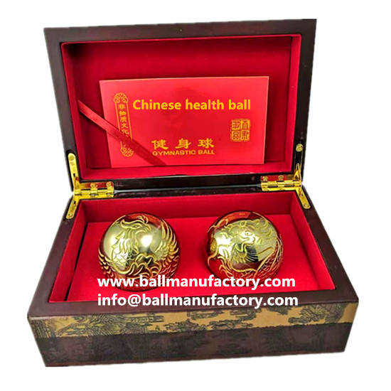 Copper hand ball-baoding ball