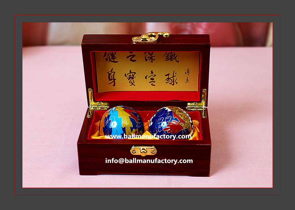 Company business gift or souvenir Chinese ball