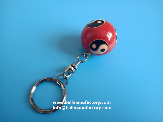 supply promotion gifts key ring chiming ball
