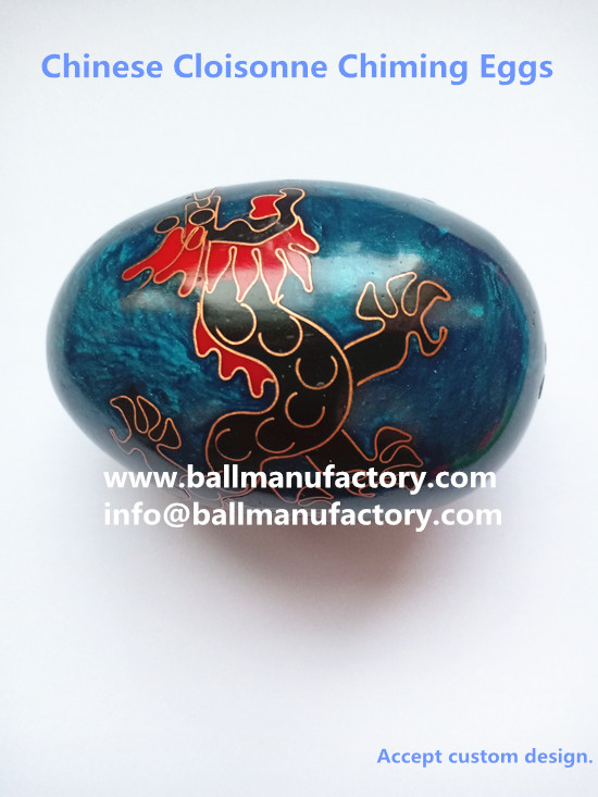Sell Easter Eggs Chinese Cloisonne Metal Chiming