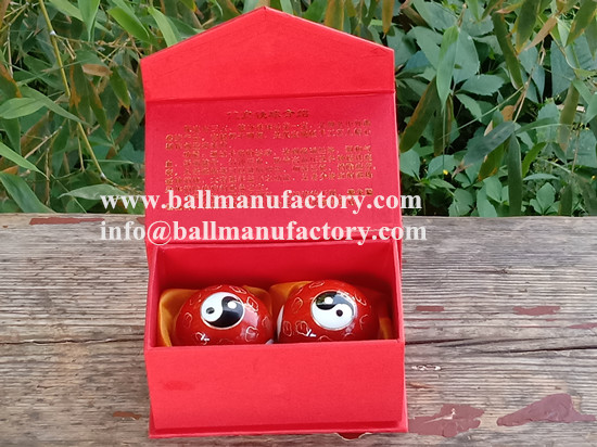 Manufacturer of baoding balls,qigong ball in China