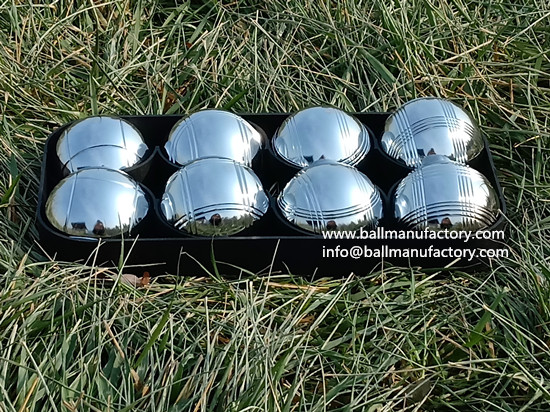 Manufacturer of boules sets ball in China