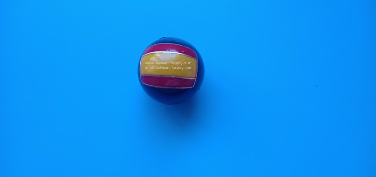 metal chiming ball with flag for Spain promotion