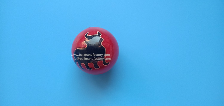 Chinese Chiming ball key ring bullfighting