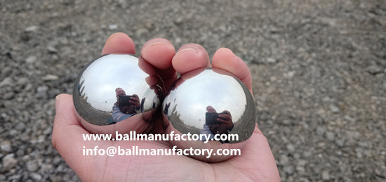 Stainless steel Chiming Baoding Balls