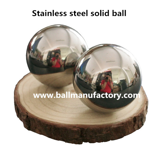 Solid stainless steel Baoding balls for exercise