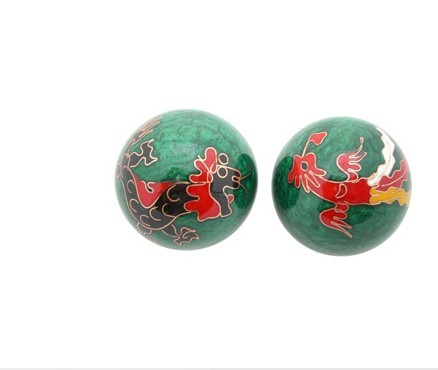 Chinese cloisonne balls