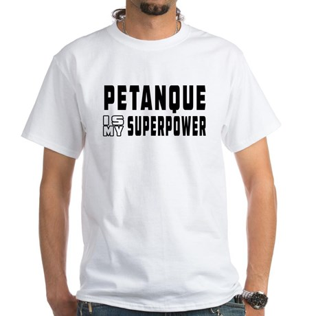 T-shirts for playing petanque