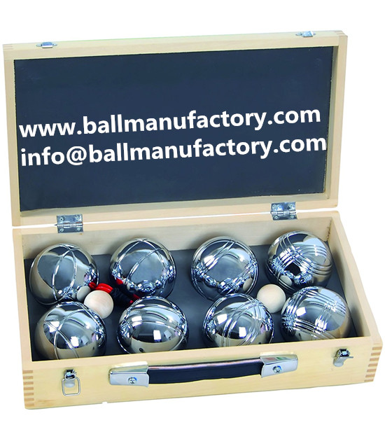 Custom boules  pétanques ball for promotion